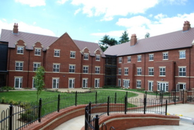 Elm bank retirement village care home kettering for How to build a retirement home